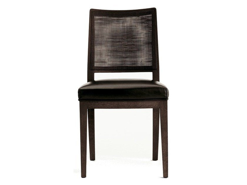 Upholstered solid wood chair CALIPSO | Chair by Maxalto