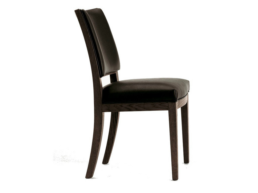 Upholstered solid wood chair CALIPSO | Upholstered chair by Maxalto