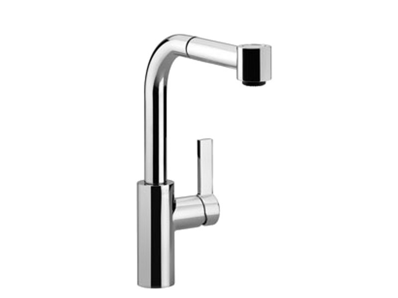 Kitchen mixer tap with pull out spray ELIO by Dornbracht