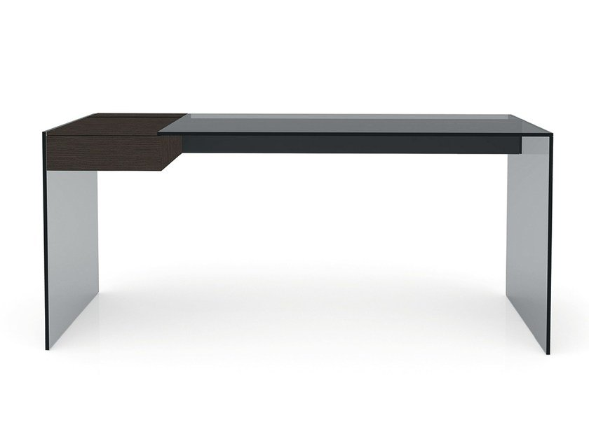 Stainless steel secretary desk AIR DESK W by Gallotti&Radice