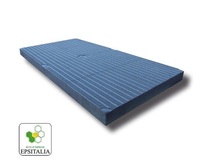 Thermal insulation panel ISOLAMBDA S by S.T.S. POLISTIROLI
