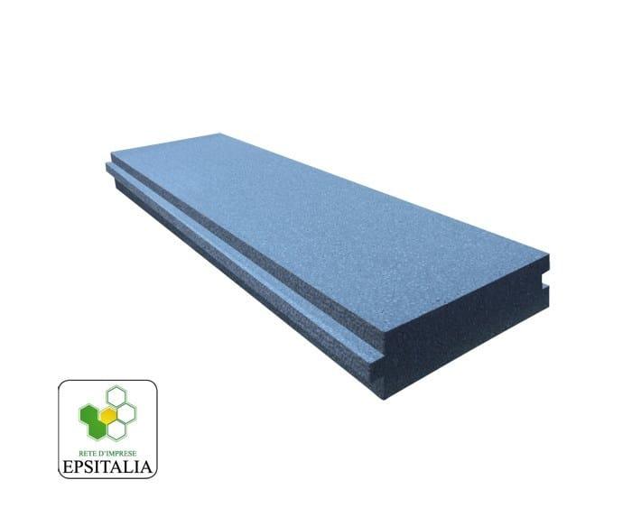 Thermal insulation panel ISOLAMBDA WALL by S.T.S. POLISTIROLI