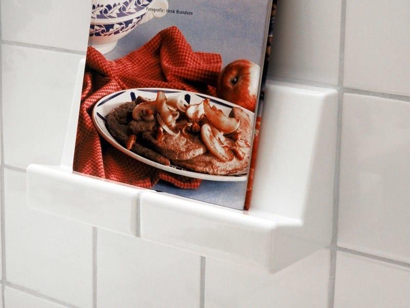 Ceramic book holder for DTILE system DTILE | book holder by DTILE