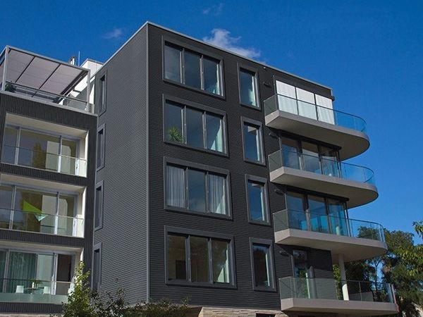 Engineered wood Ventilated facade VENTILATED FACADE CLAIRE-VOIE by Silvadec