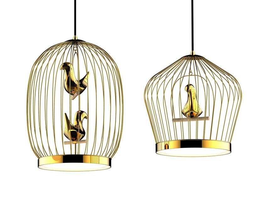 LED pendant lamp TWEE T by Casamania & Horm