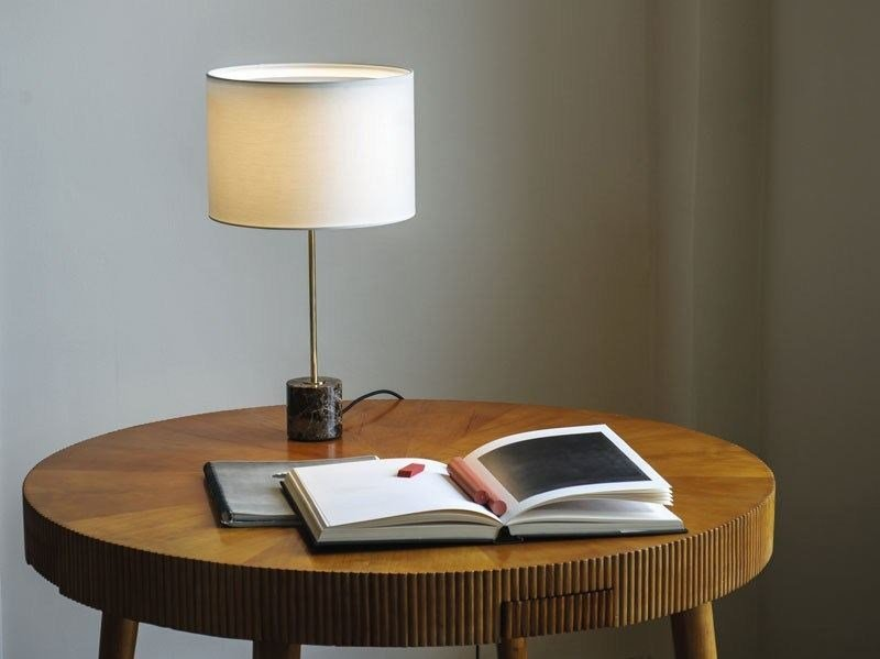 Brass table lamp KILO TL EMPERADOR by Kalmar