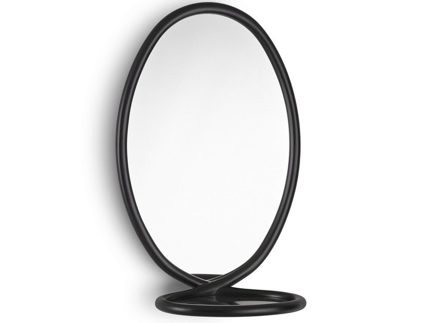 Oval Framed Mirror Loop