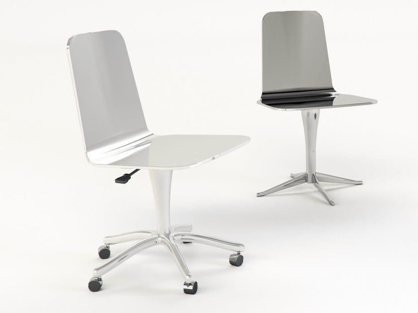 Luwan sedia con ruote by altreforme design marco piva