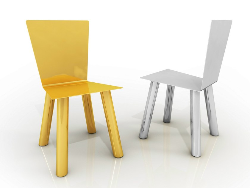 Metal chair FIOCCO by altreforme