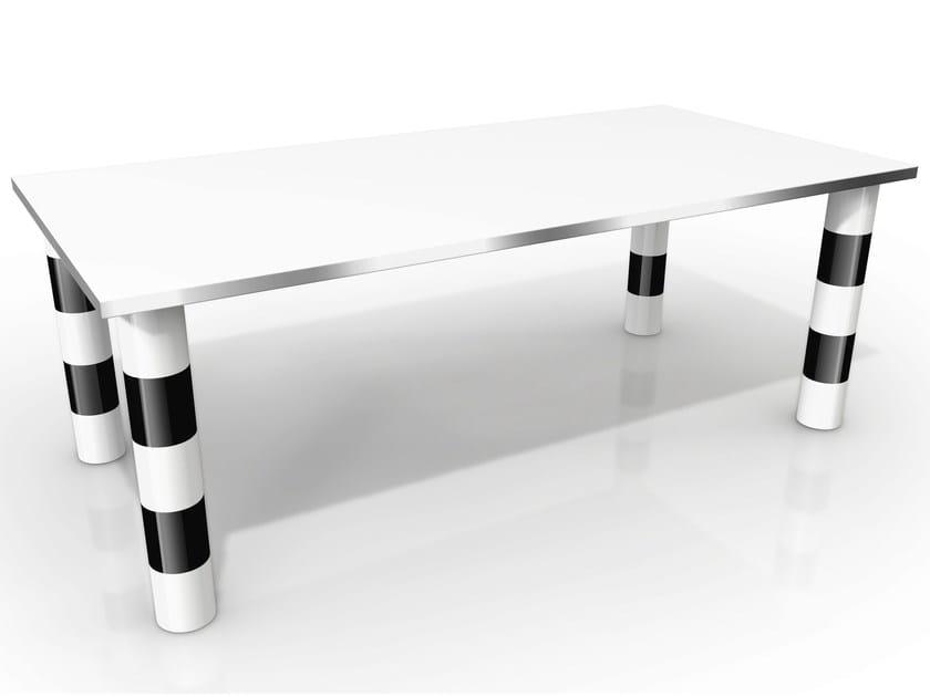 Tavolo rettangolare in alluminio VENEZIA by altreforme