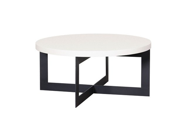 Round coffee table for living room CROSS | Coffee table by Ph Collection