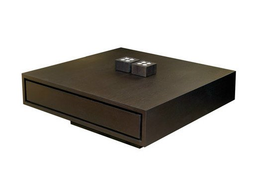 Square oak coffee table BANCO   Coffee table by Ph Collection