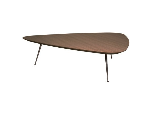 Oak coffee table for living room TRIPODE | Coffee table by Ph Collection
