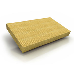 Rock wool Thermal insulation panel / Sound insulation and sound absorbing panel in mineral fibre DDP by KNAUF INSULATION - TO
