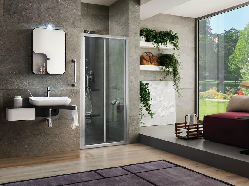 Niche tempered glass shower cabin VIRGO | Niche shower cabin by ARBLU