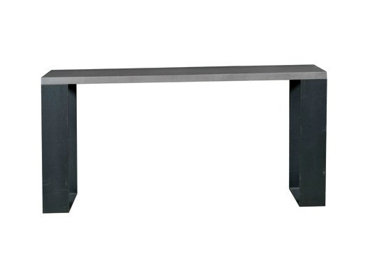 Rectangular oak console table BEMOL | Console table by Ph Collection
