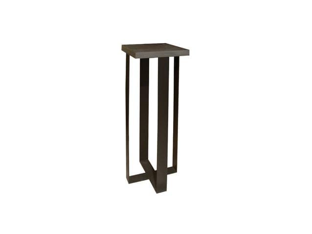 Wood veneer pedestal URBAN | Pedestal by Ph Collection