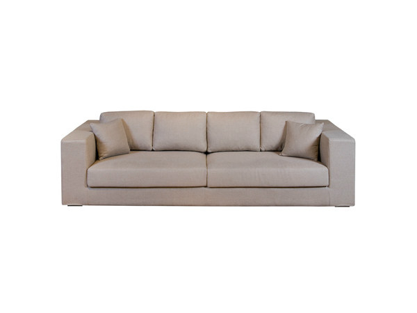 4 seater sofa with removable cover DAVID | Sofa by Ph Collection