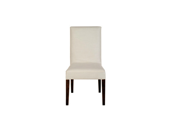 Upholstered chair CARRE | High-back chair by Ph Collection