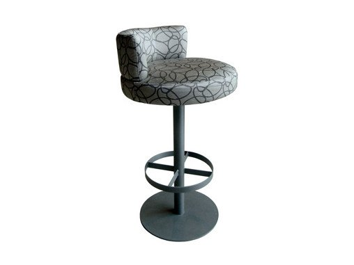 Swivel upholstered stool BALOON | Stool by Ph Collection