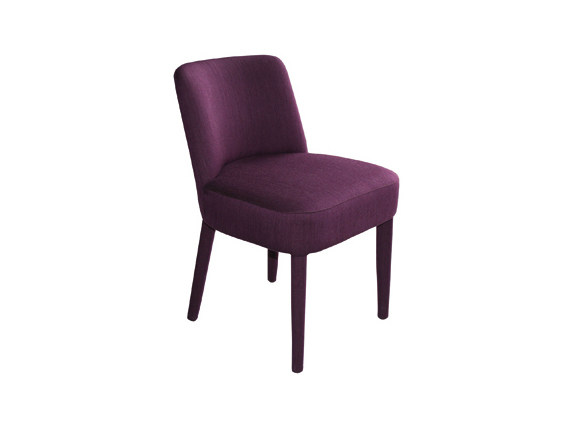 Upholstered fabric chair ELENA | Chair by Ph Collection