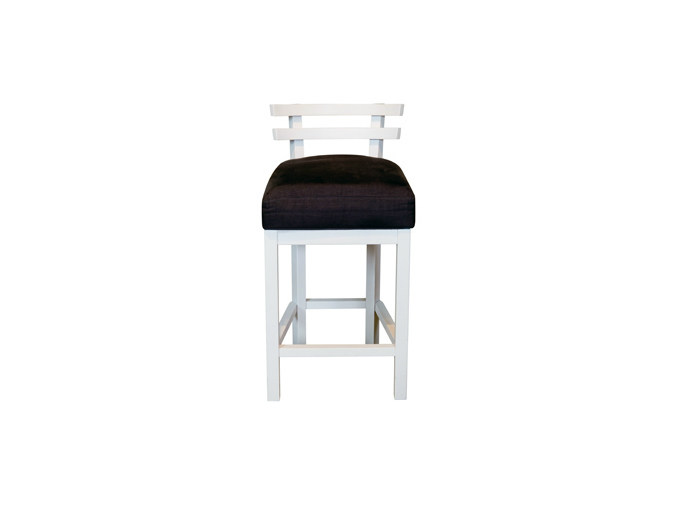 Upholstered stool DIABOLO BAR | Stool by Ph Collection