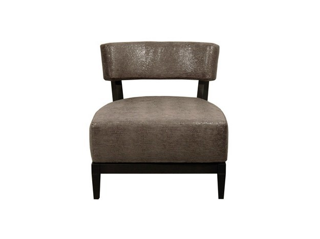 Upholstered leather easy chair ALFA | Easy chair by Ph Collection