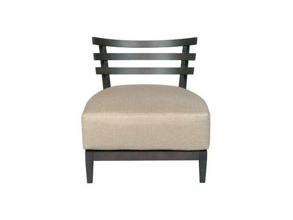 Upholstered leather easy chair DIABOLO | Easy chair by Ph Collection