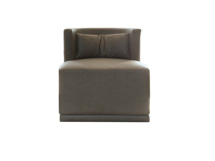 Upholstered fabric armchair LUPO | Armchair by Ph Collection