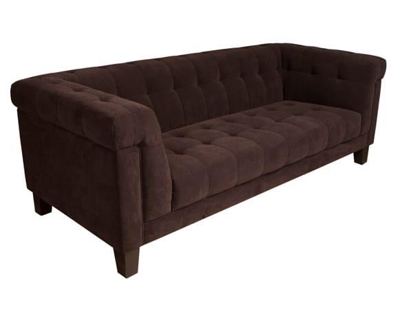 Tufted fabric sofa GRAMERCY by Hamilton Conte Paris