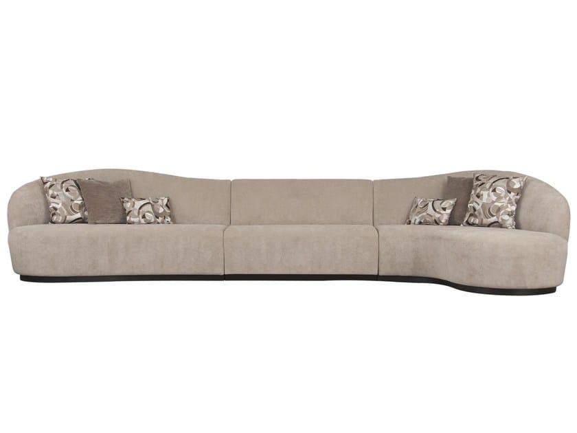 Modular fabric sofa DON IGNACIO by Hamilton Conte Paris