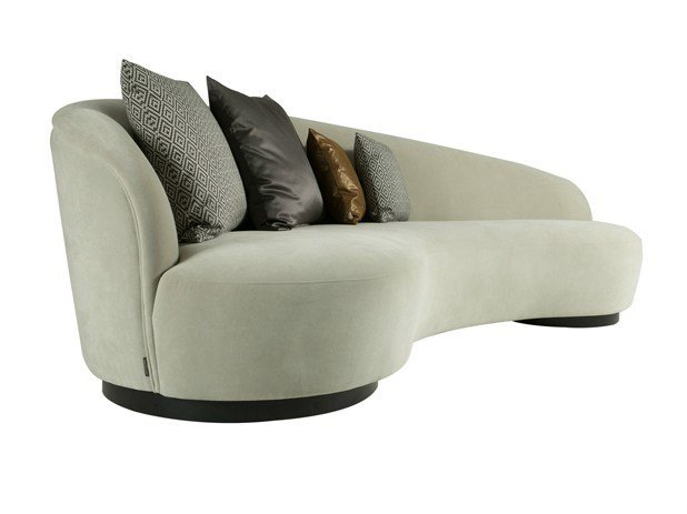 4 seater fabric sofa IGNACIO L by Hamilton Conte Paris