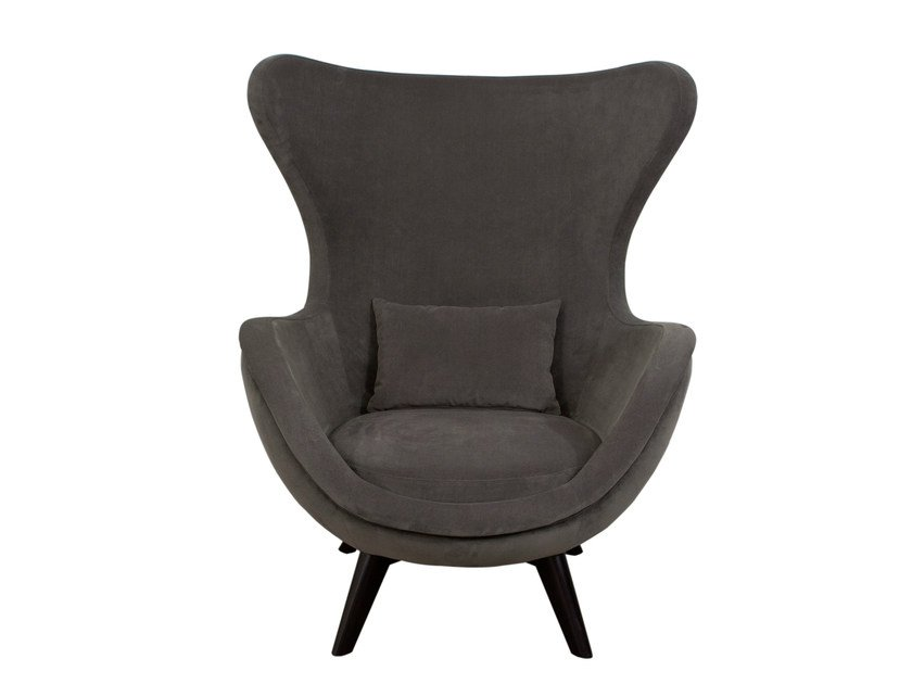 Upholstered wingchair IDA by Hamilton Conte Paris