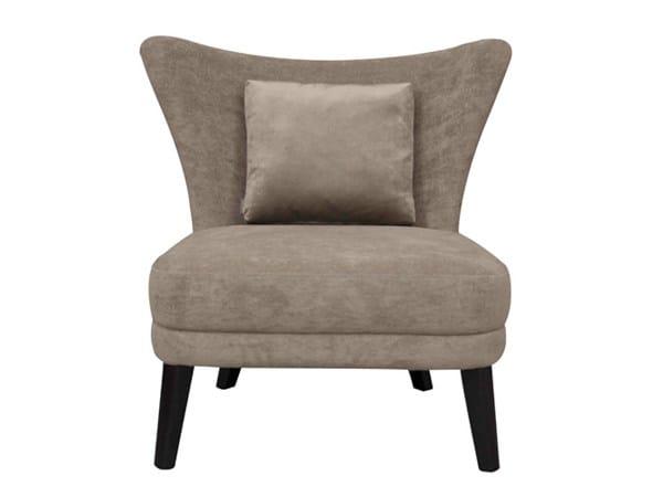 Fabric easy chair CASIMIR by Hamilton Conte Paris