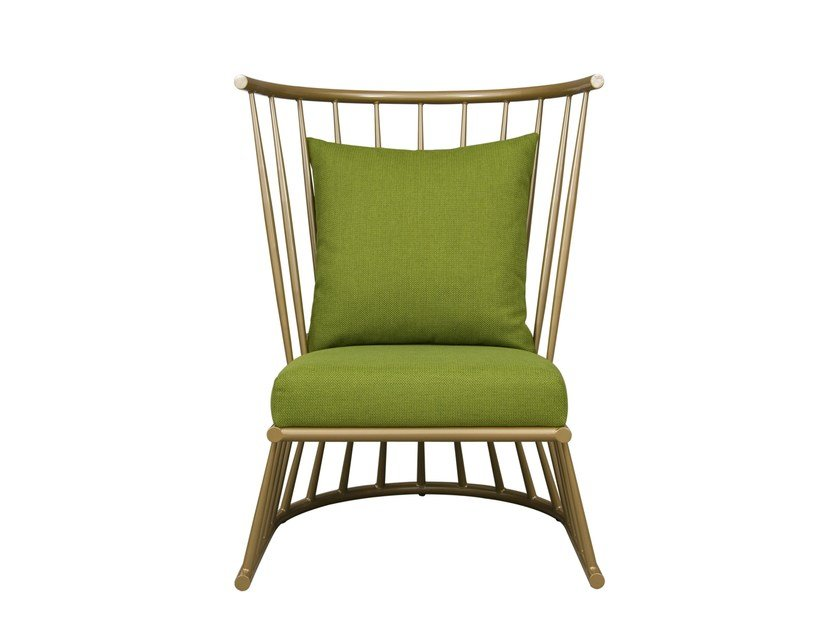 Iron easy chair WINDSOR | Easy chair by Hamilton Conte Paris