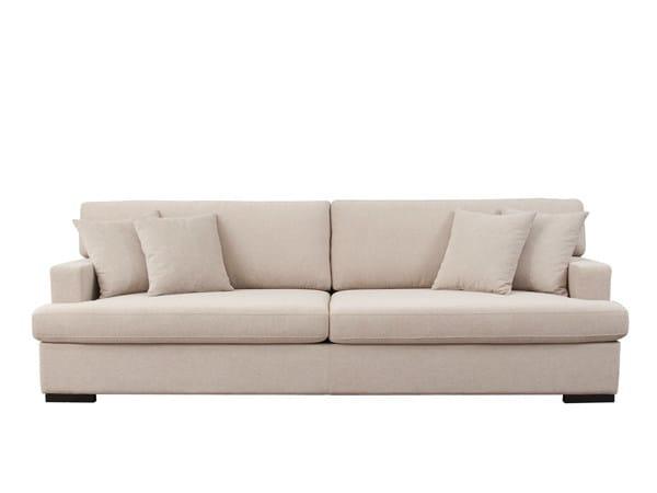 3 seater fabric sofa TRIBECA by Hamilton Conte Paris