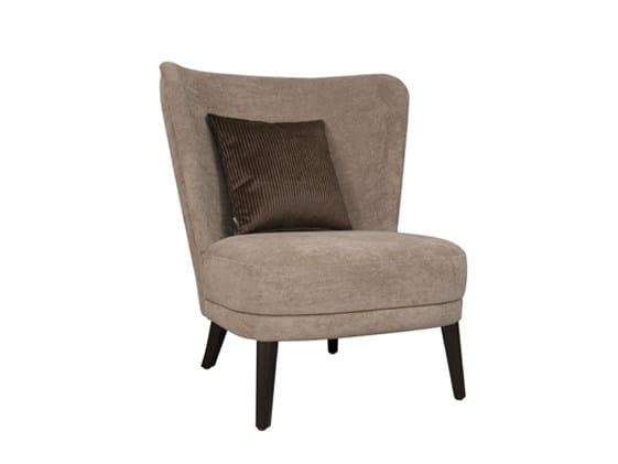 Fabric easy chair GABRIEL 1P by Hamilton Conte Paris