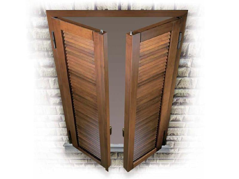 Steel shutter SEKURA by Sabatino Liberato