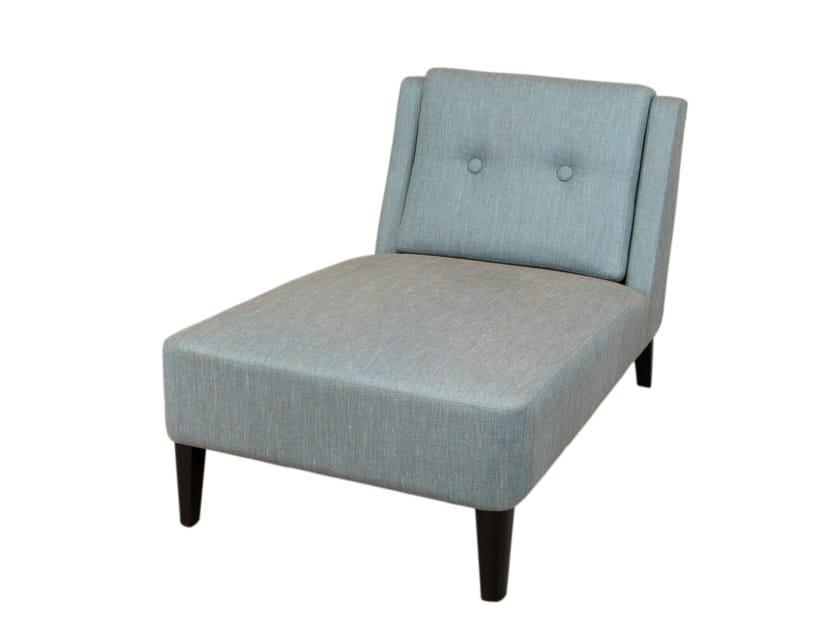 Fabric lounge chair LÀZARO | Lounge chair by Hamilton Conte Paris