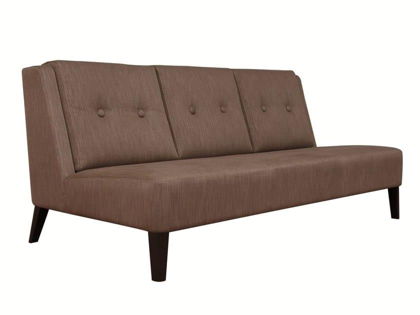 3 seater fabric sofa LAZARO 3P by Hamilton Conte Paris