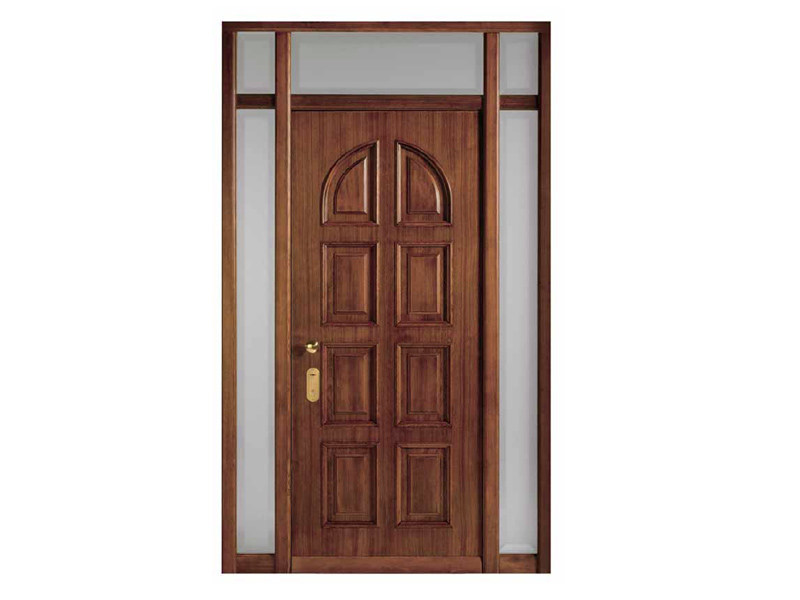 Acoustic energy-saving wooden safety door SUPER by Sabatino Liberato