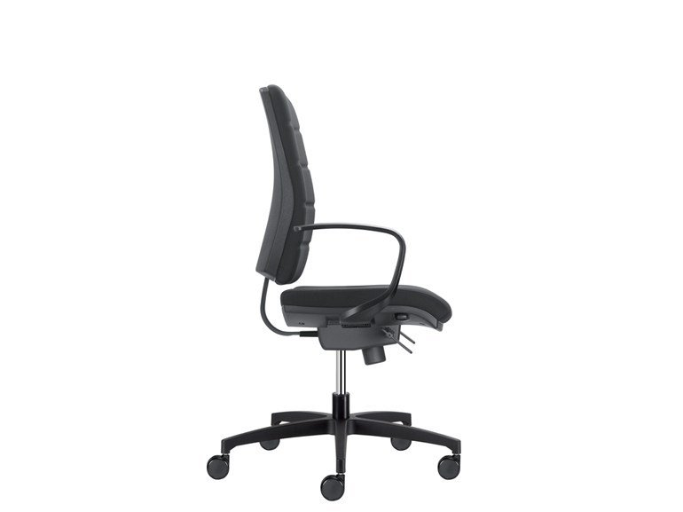 Task chair with 5-Spoke base BE QUADRA   Task chair by SitLand