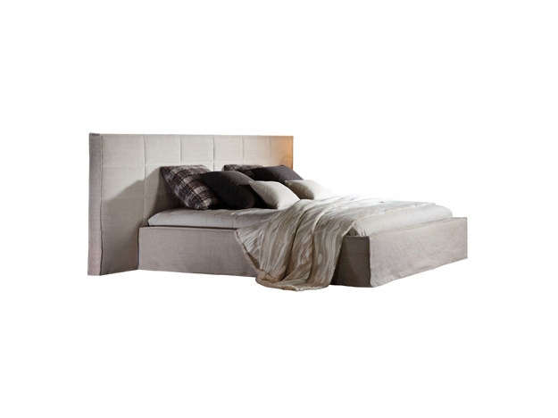 Double bed with high headboard MORPHEE | Bed by Ph Collection