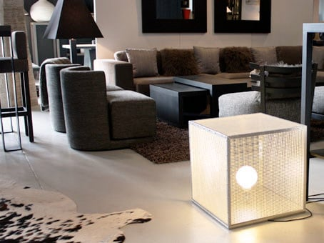 Direct-indirect light floor lamp CAGE   Floor lamp by Ph Collection