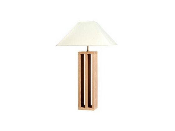 Oak table lamp COLONNE | Table lamp by Ph Collection