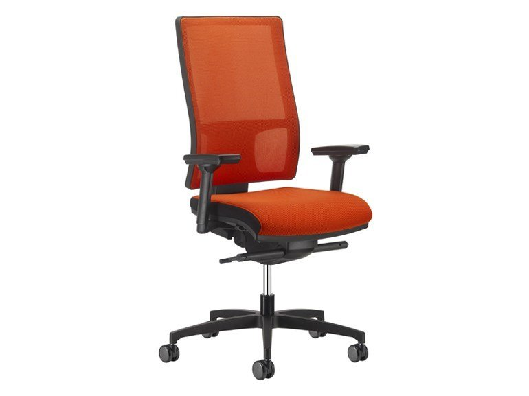 Task chair with 5-Spoke base MESH LINE   Task chair by SitLand