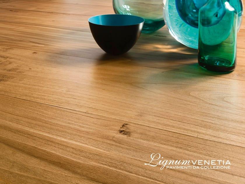 Brushed cherry wood parquet MURANO by Lignum Venetia