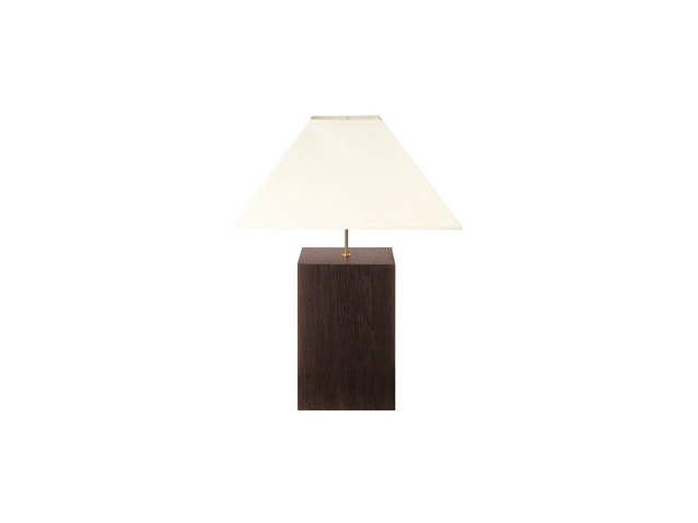 Oak table lamp CUBE | Table lamp by Ph Collection