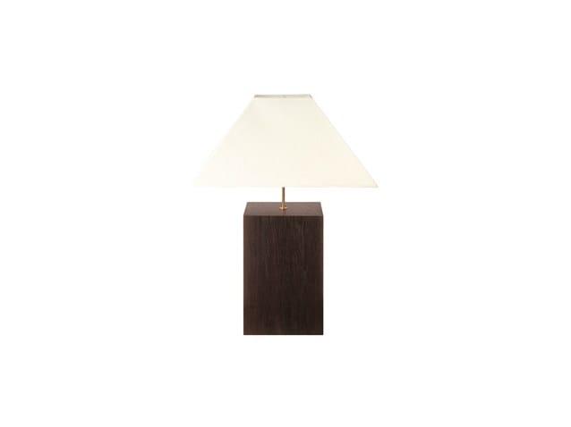 Lampada da tavolo in rovere CUBE | Lampada da tavolo by Ph Collection