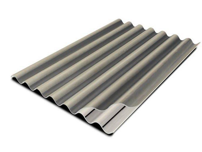 Lastra ondulata in PVA cemento  per coperture SETTEONDE by EDILFIBRO
